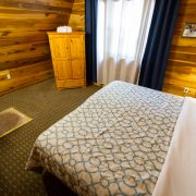 first bedroom in two bedroom chalet