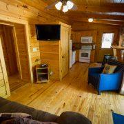living rom in ridgeview retreat