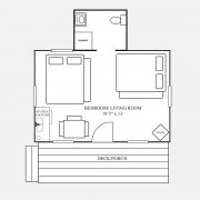 cedar cabin floor plan