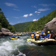 A summer gauley adventure with ACE Adventure
