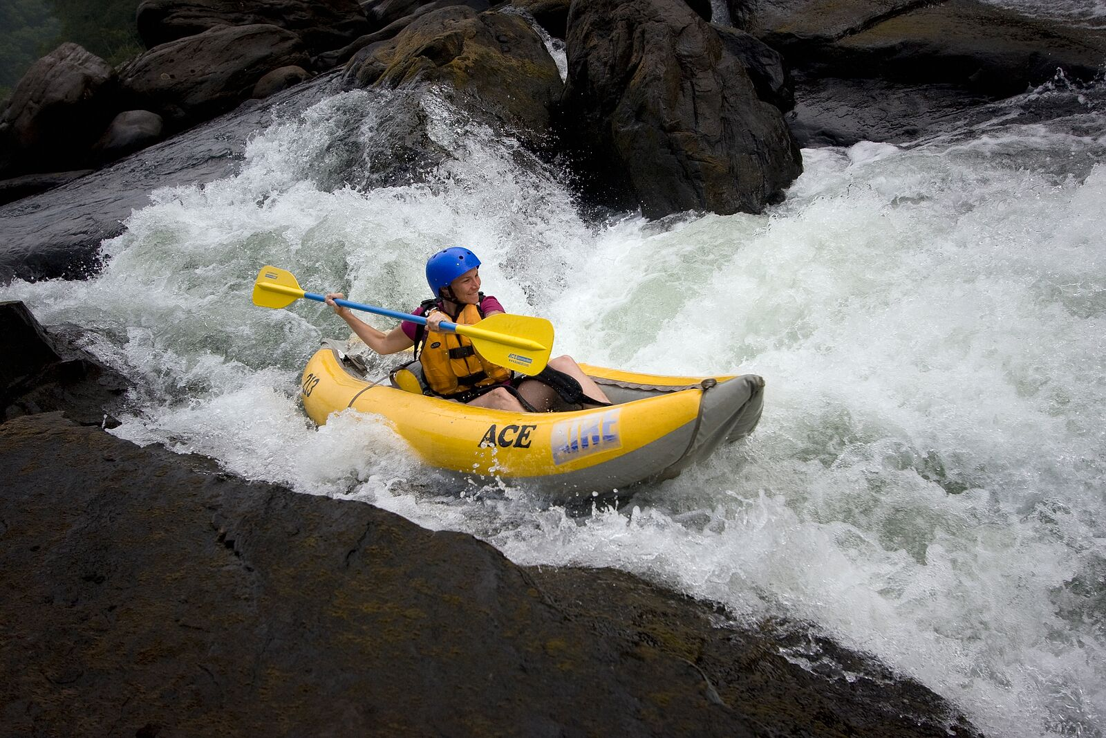 Summer Upper Gauley River Rafting All Day