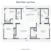 Black Bear floor plan