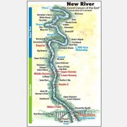 Lower New river map