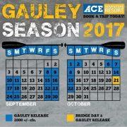 Gauley river release calendar