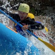 gung-ho face on the gauley all paddle ahead