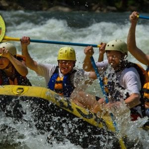 whitewater rafting scouts merit badge