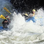Intense Whitewater rapids on the Gauley River