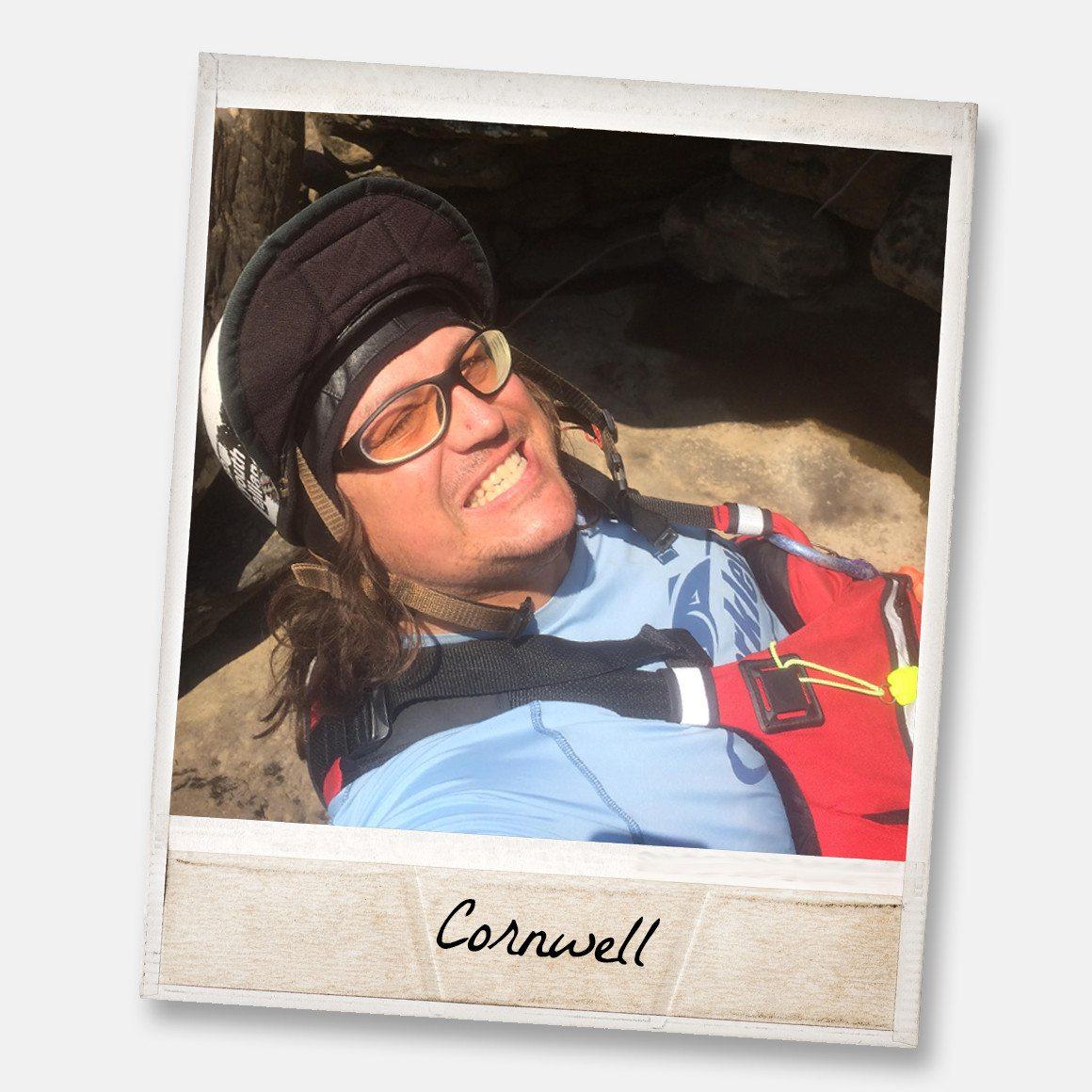 Cornwell's sunny sunshine face