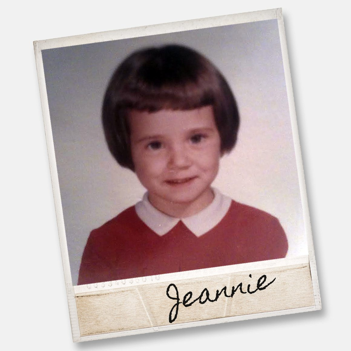 jeannie as a youngen