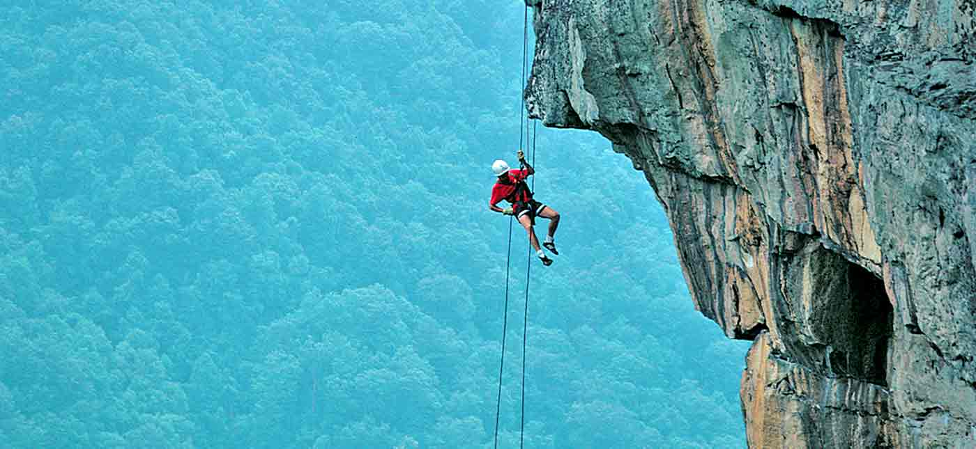 Enlist in ACE Adventure's Rock Climbing School