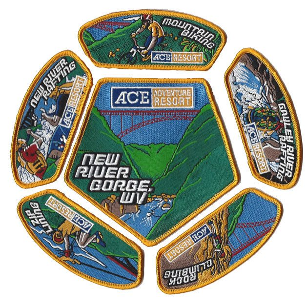 patch set of ACE Adventure resort