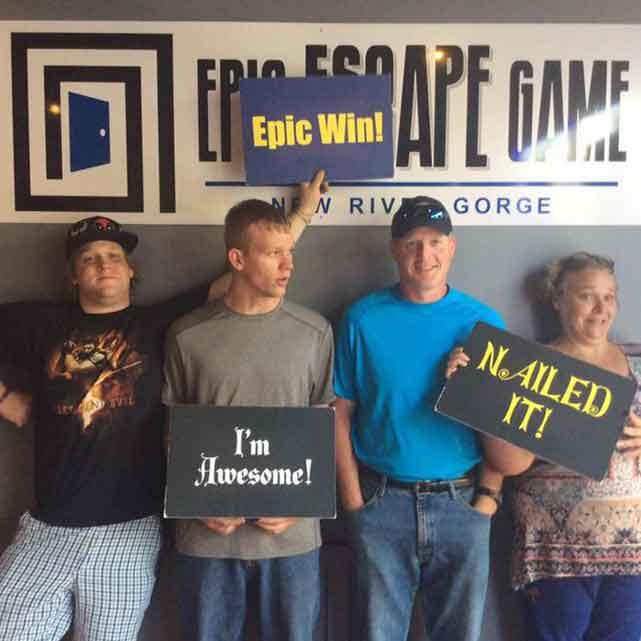 epic escape game room nrg