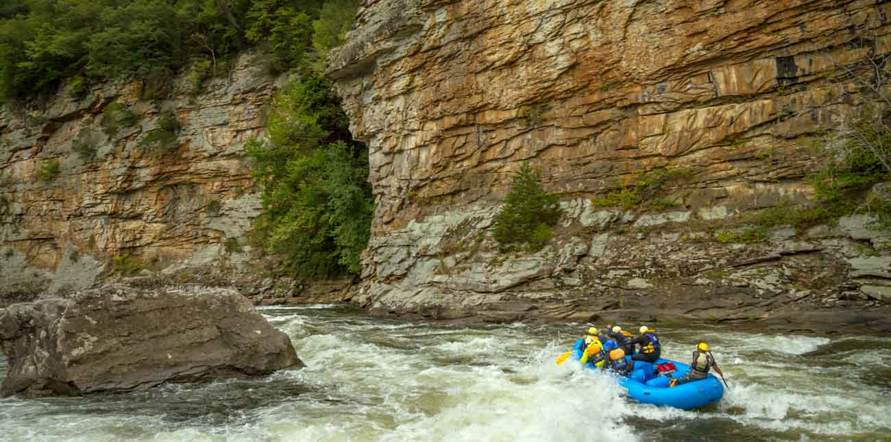 lower gauley at junkyard