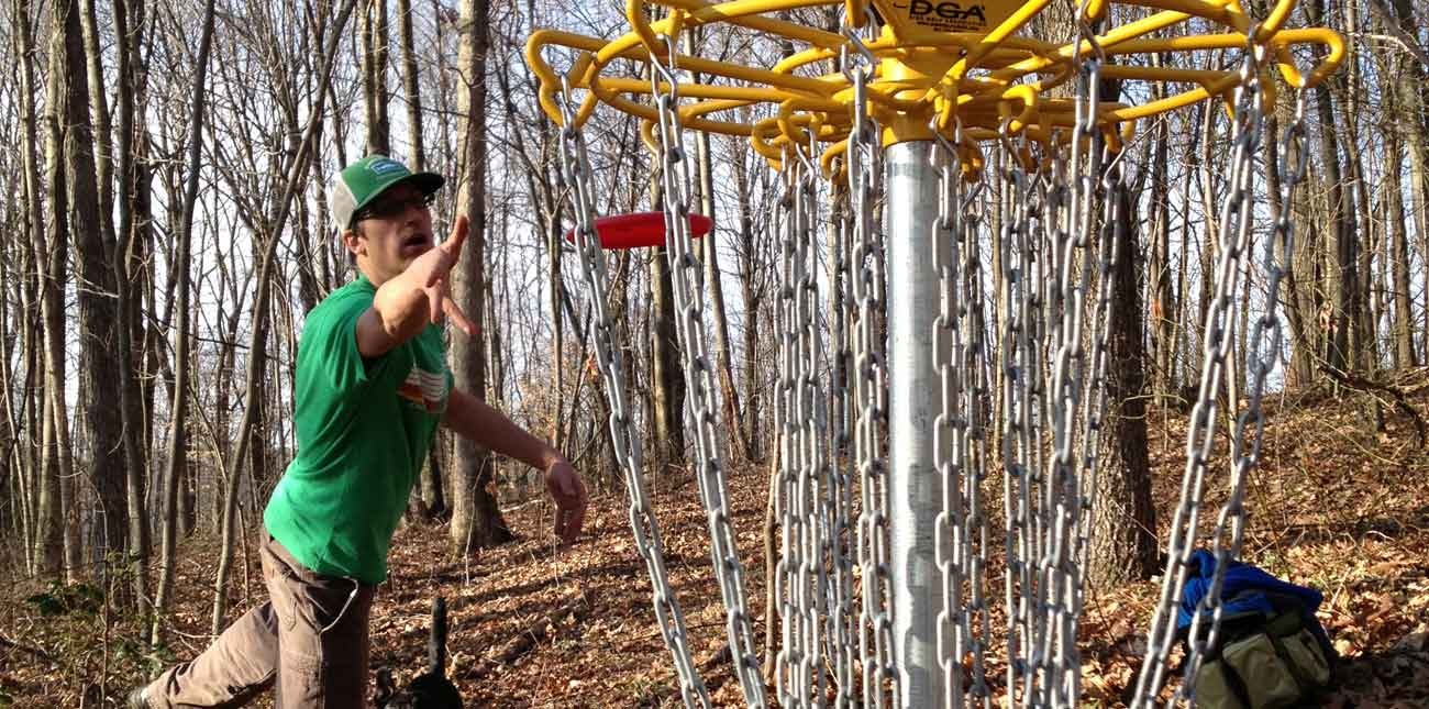 Free Disc Golf at ACE Adventure Resort