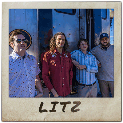 Members of Litz pose for a picture.