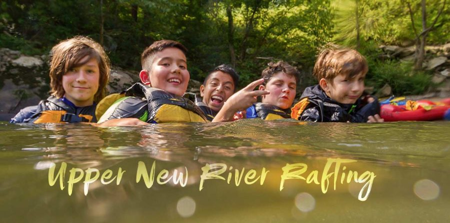 Family Rafting – A Day On The Upper New River In Photos
