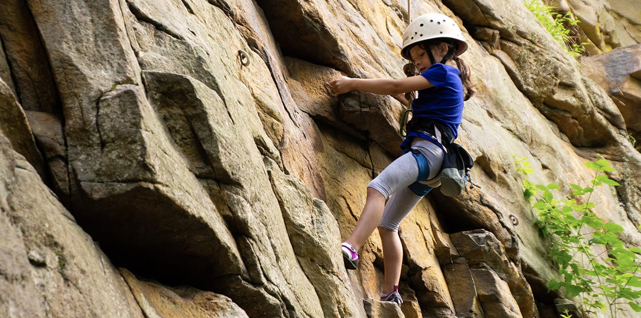 Fall Rock Climbing in the New River Gorge