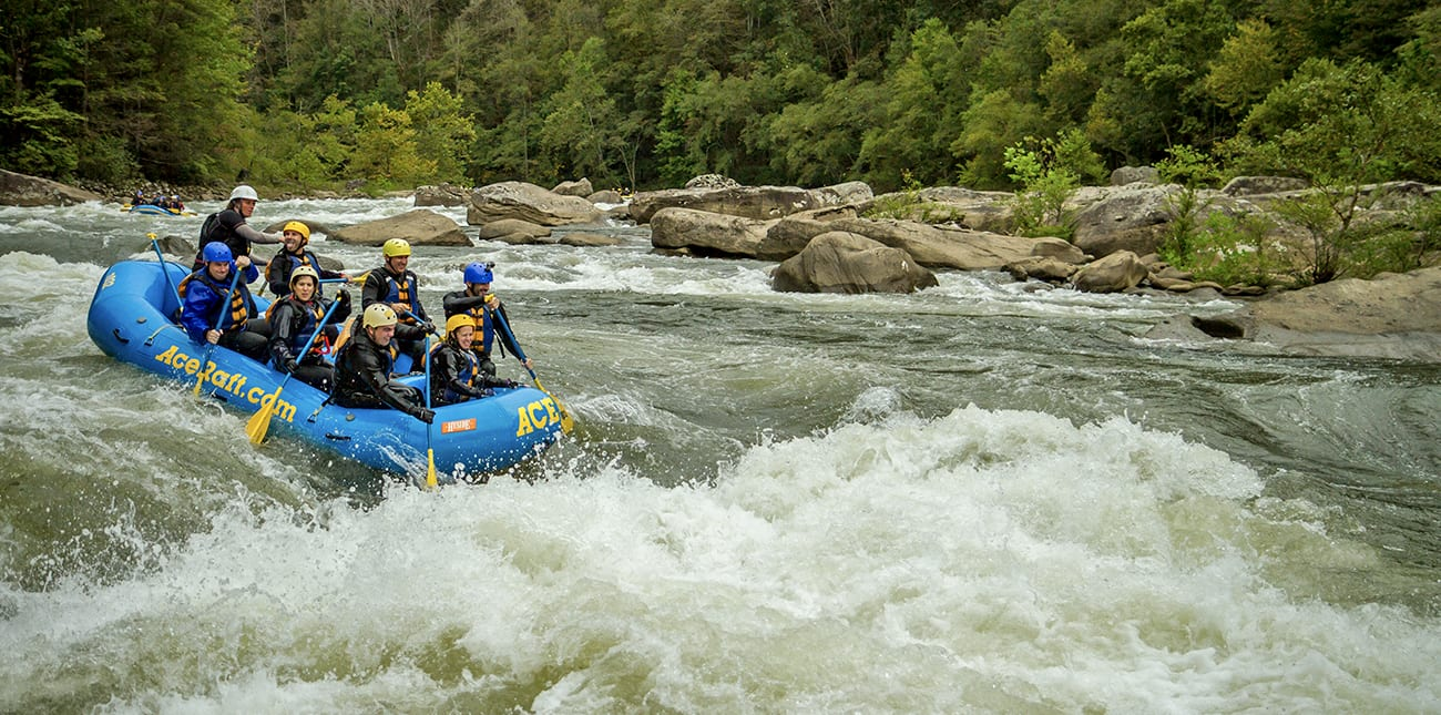 Conquering the Lower Gauley River