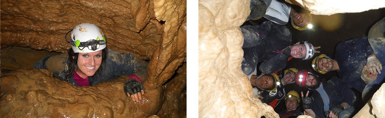 Cave tours with ACE Adventure Resort at Lost World Caverns.