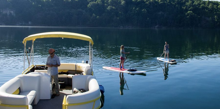 Breathtaking Fall SUP Tours at ACE