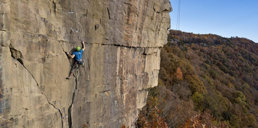 New River Gorge Climbing History