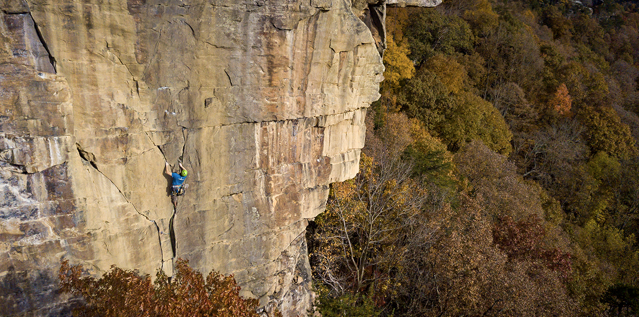 New River Gorge climbing history has evolved over decades in West Virginia.
