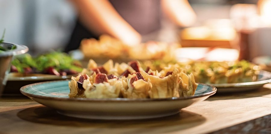 Rezan's Gourmet Winter Lodging Meals at ACE