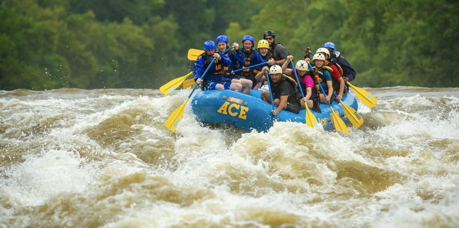 Springtime New River Gorge Whitewater Rafting Trips