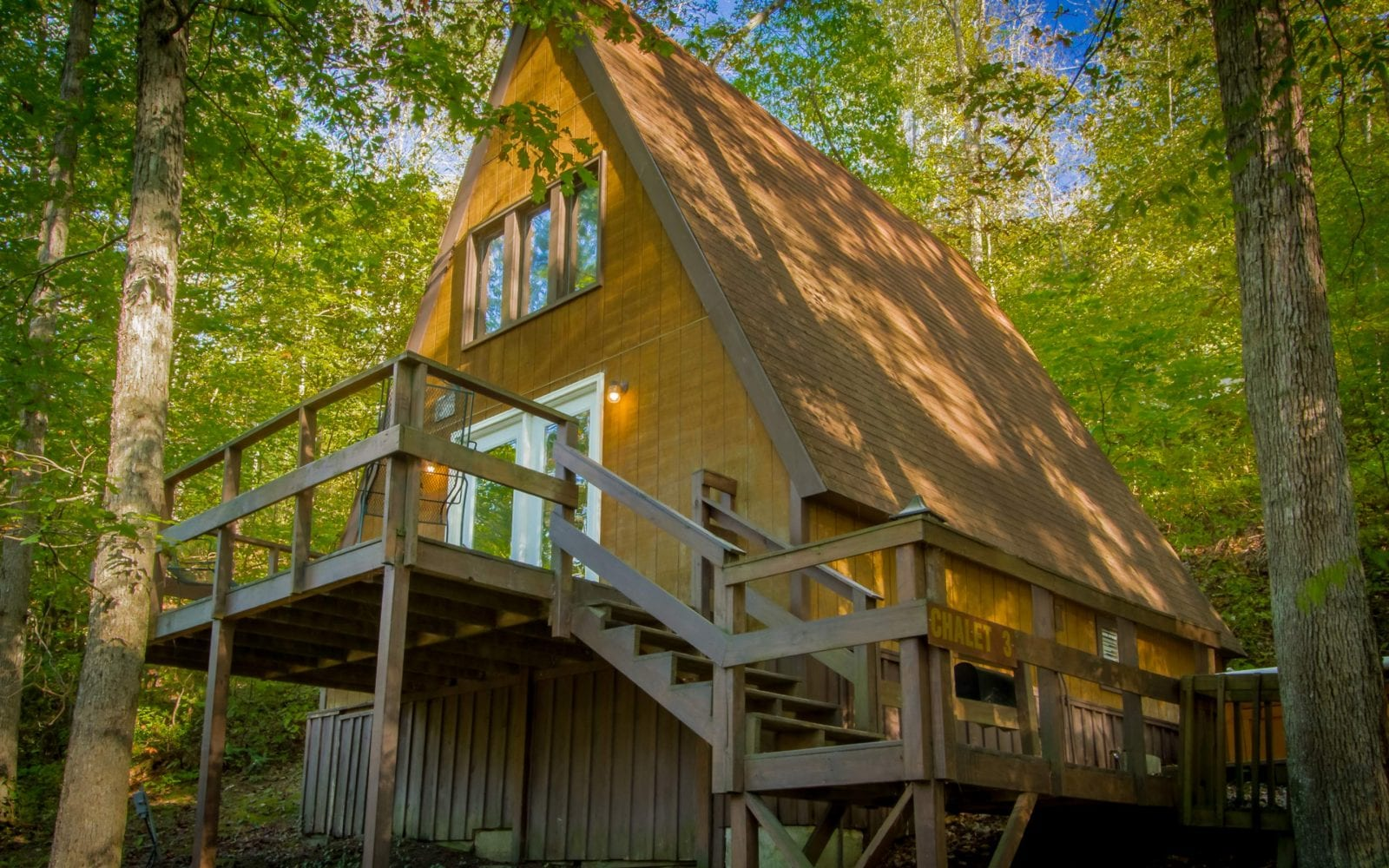 A Frame Chalet Ace Adventure Resort
