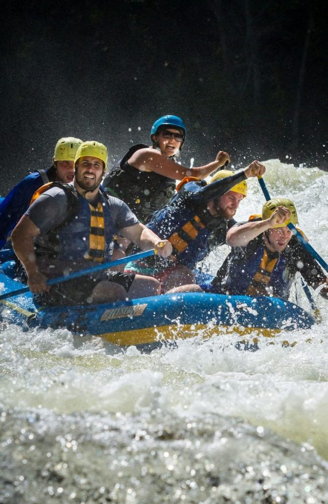Rafting during Gauley Season