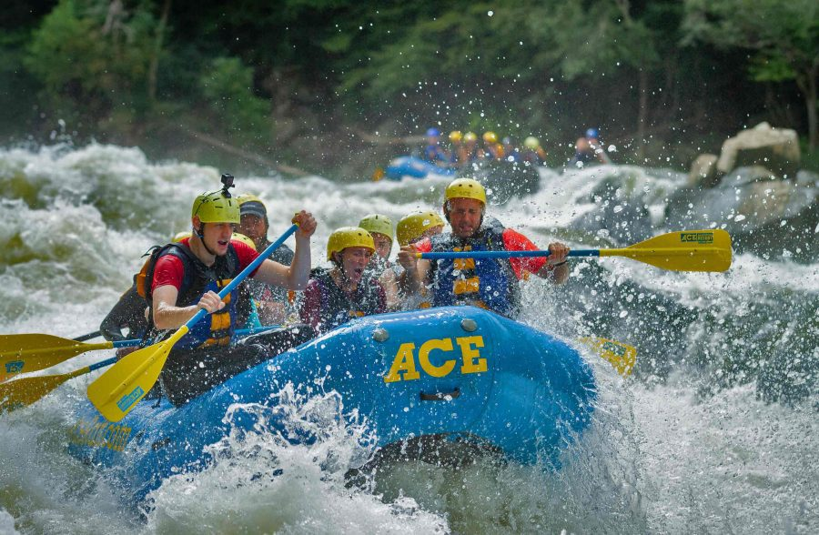Rapid Run Three Quarter Day Fall Upper Gauley Whitewater Rafting