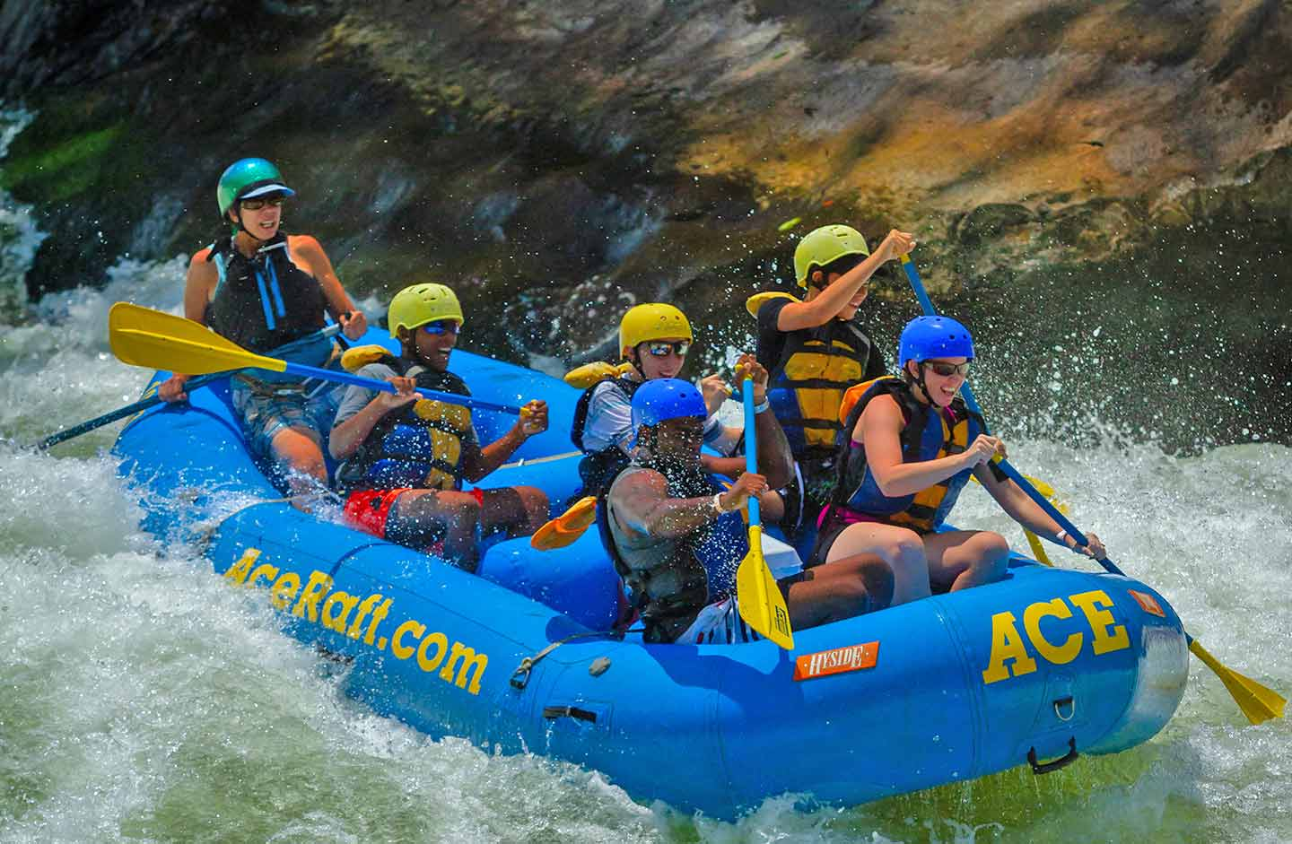 Half Day Lower New River Gorge Whitewater Rafting