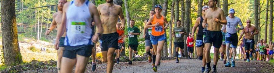 The New River Gorge Wonderland Mountain Challenge Trail Run