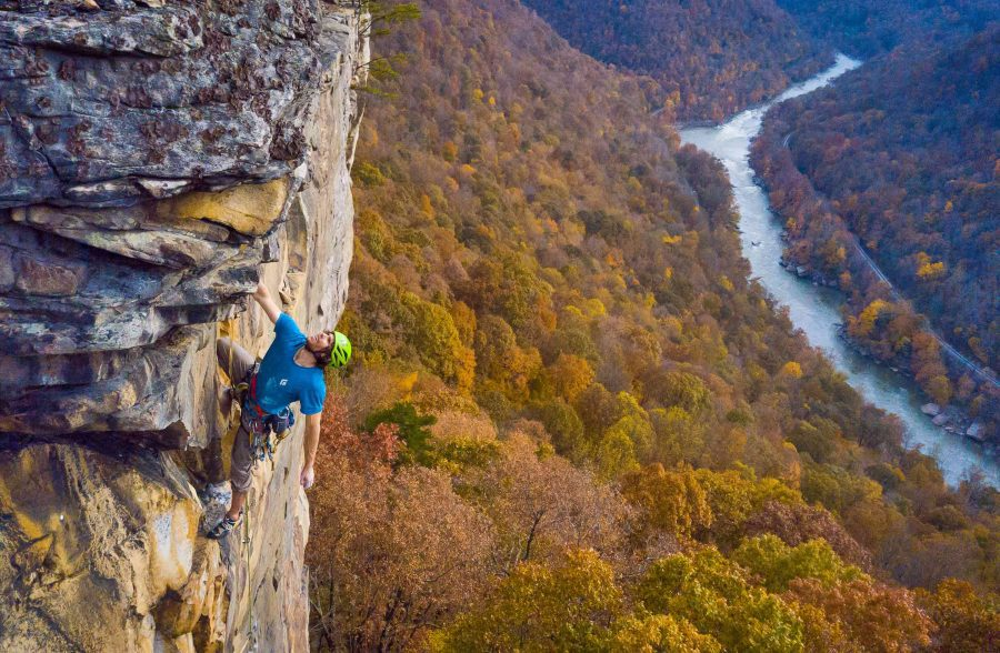 Lower New River Gorge Full Day Climb And Rappel