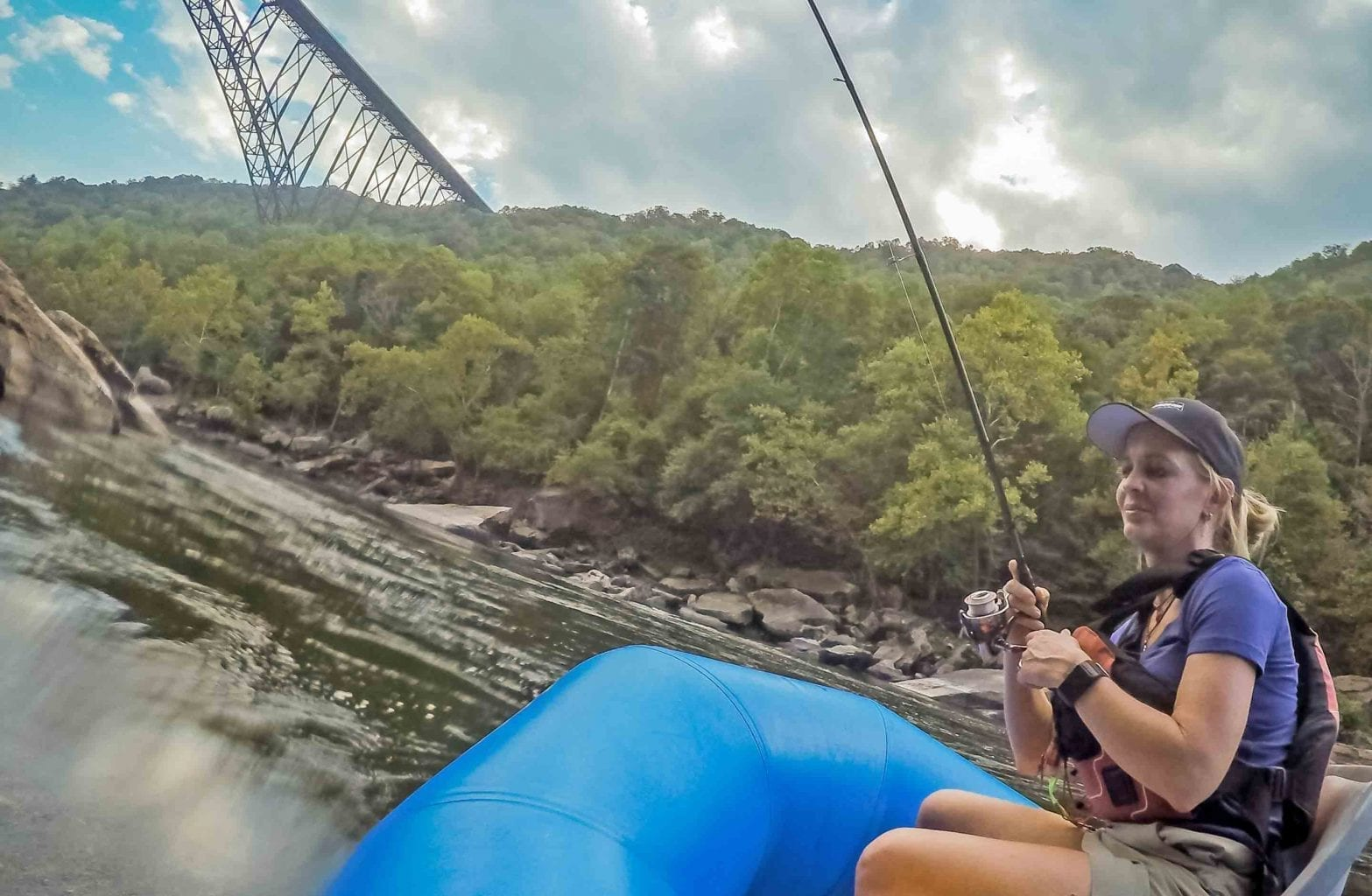 New River Gorge Guided Fishing Trip | ACE Adventure Resort