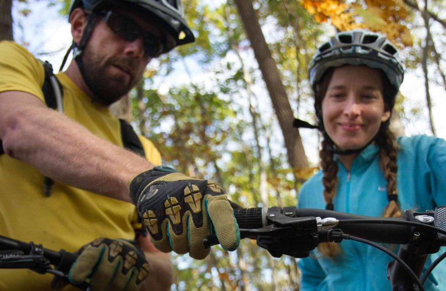 Experienced Rider Mountain Biking Clinic At ACE