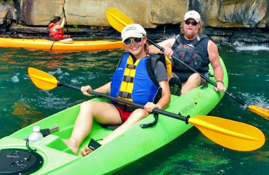 Tandem Touring Kayak Half Day