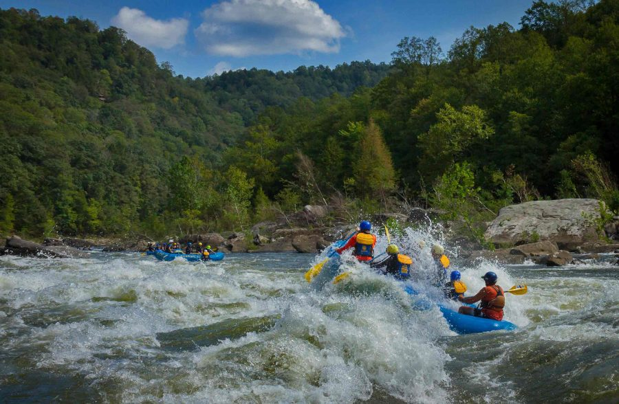 Classic Fall Gauley River Overnight Trip