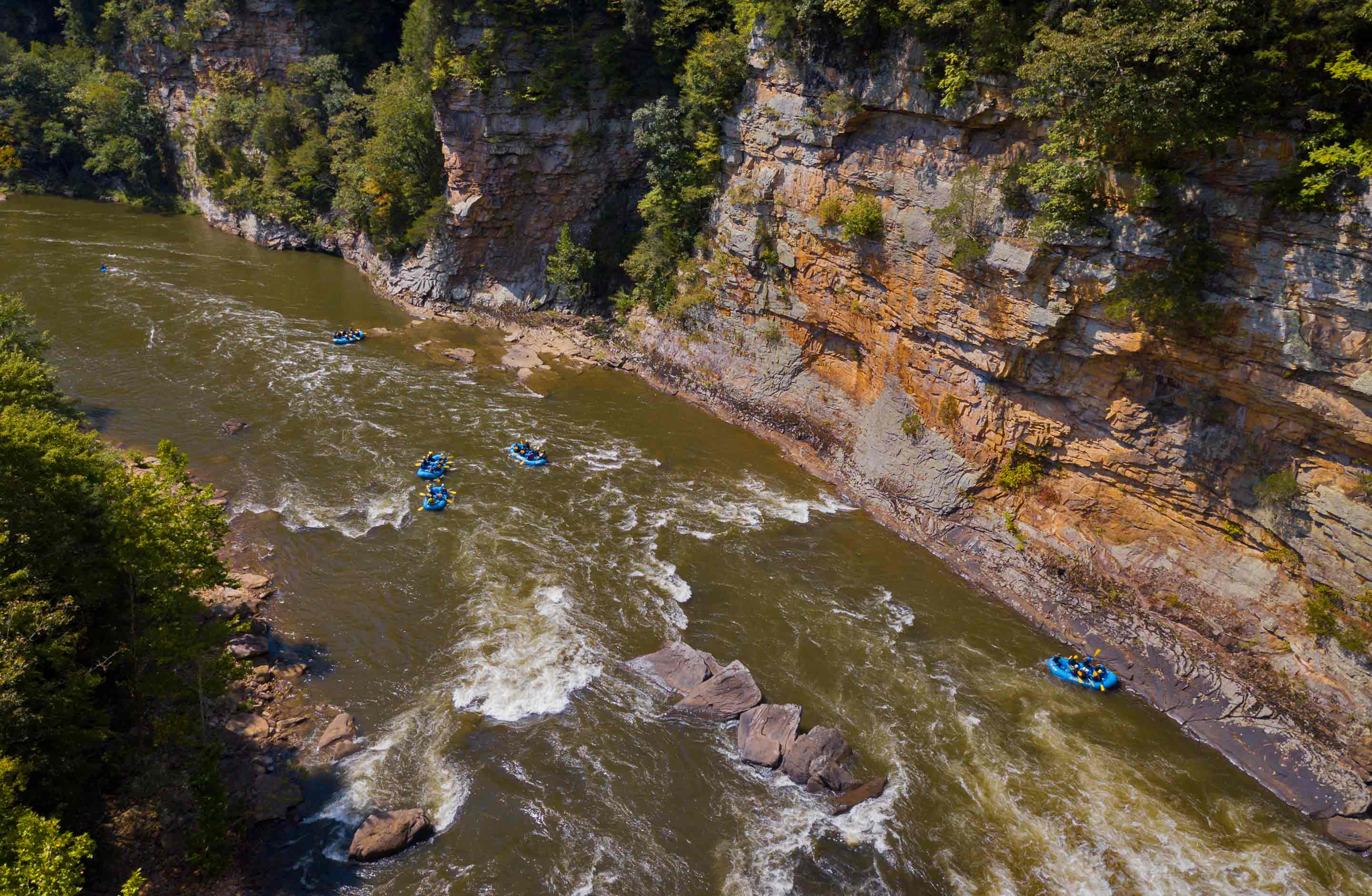 The Lower Gauley in West Virginia