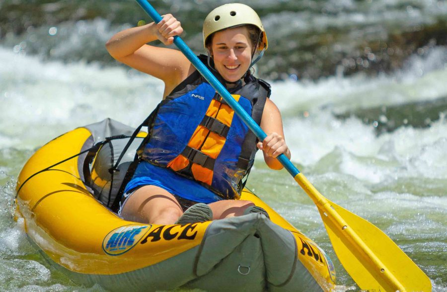 Relax on the river by Kayaking in WV