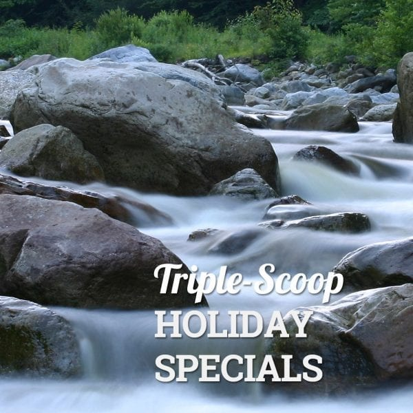 TRIPLE SCOOP HOLIDAY SPECIAL – LABOR DAY