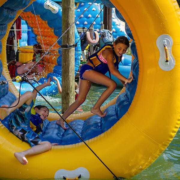 kids enjoy the Wonderland Waterpark