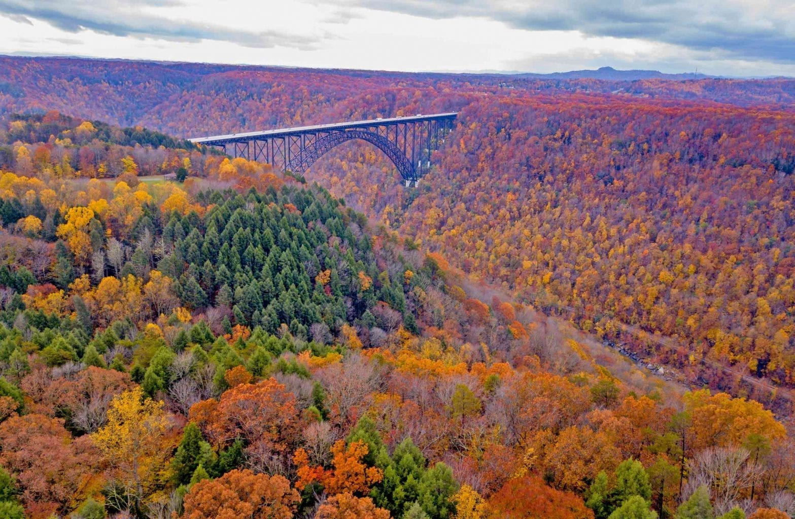Fall Adventures in the New River Gorge
