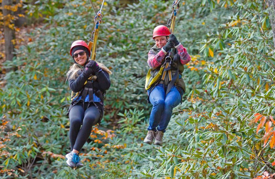 Fall Zipline Tours