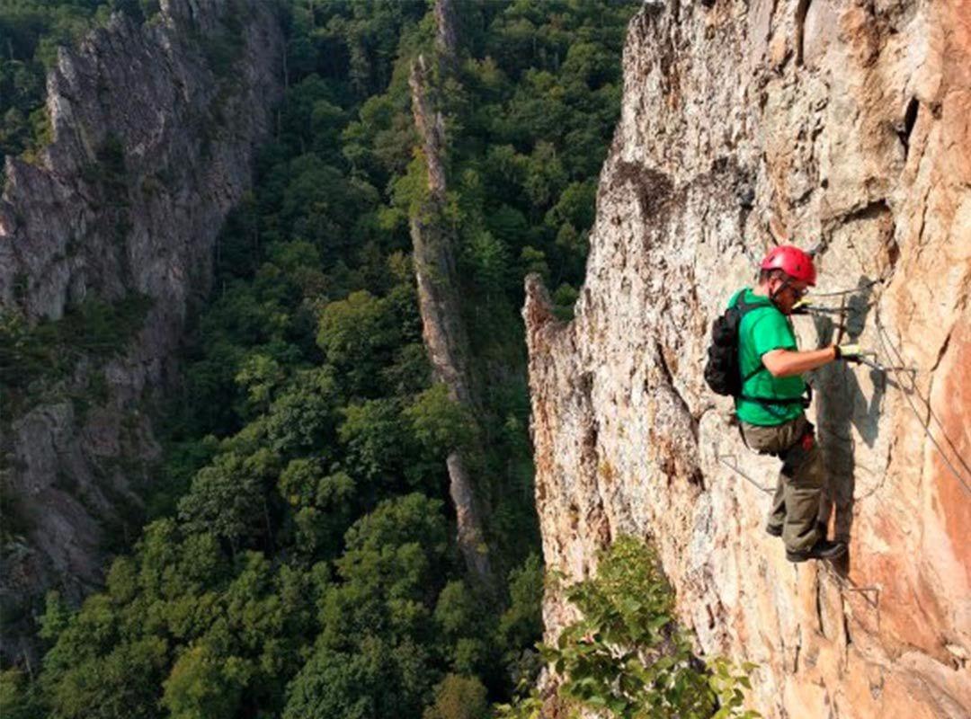Nelson Rocks Via Feratta Experience Gift