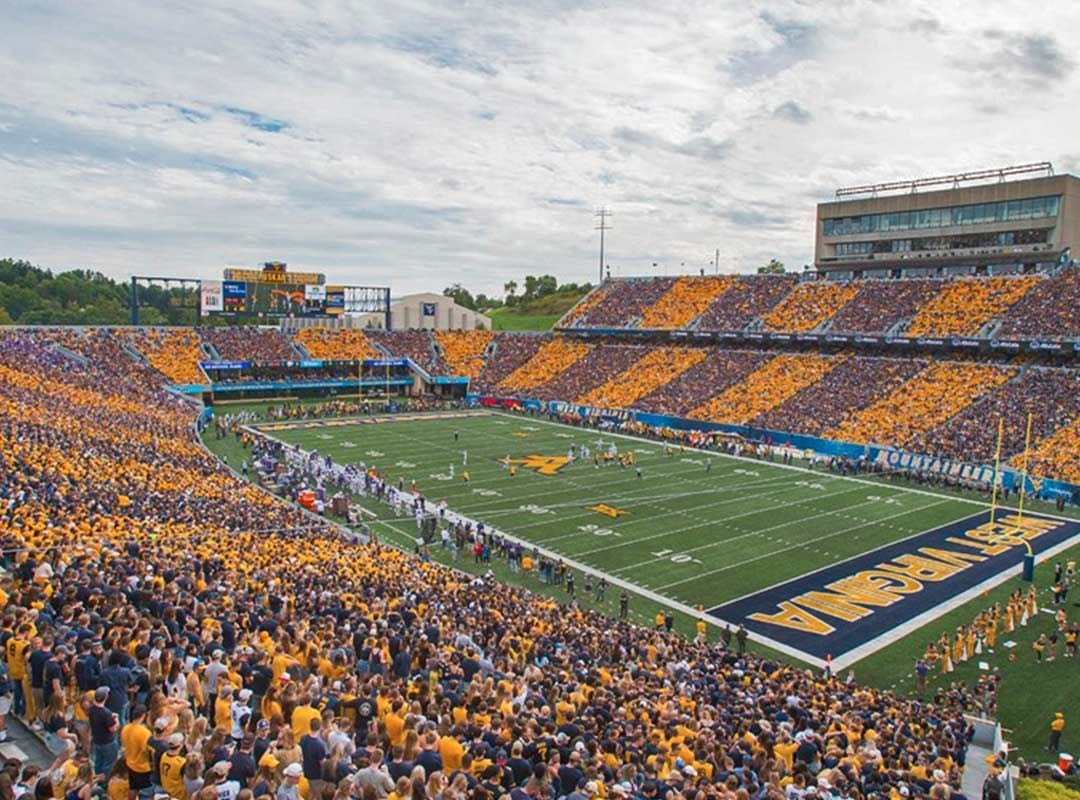 WVU West Virginia University Football