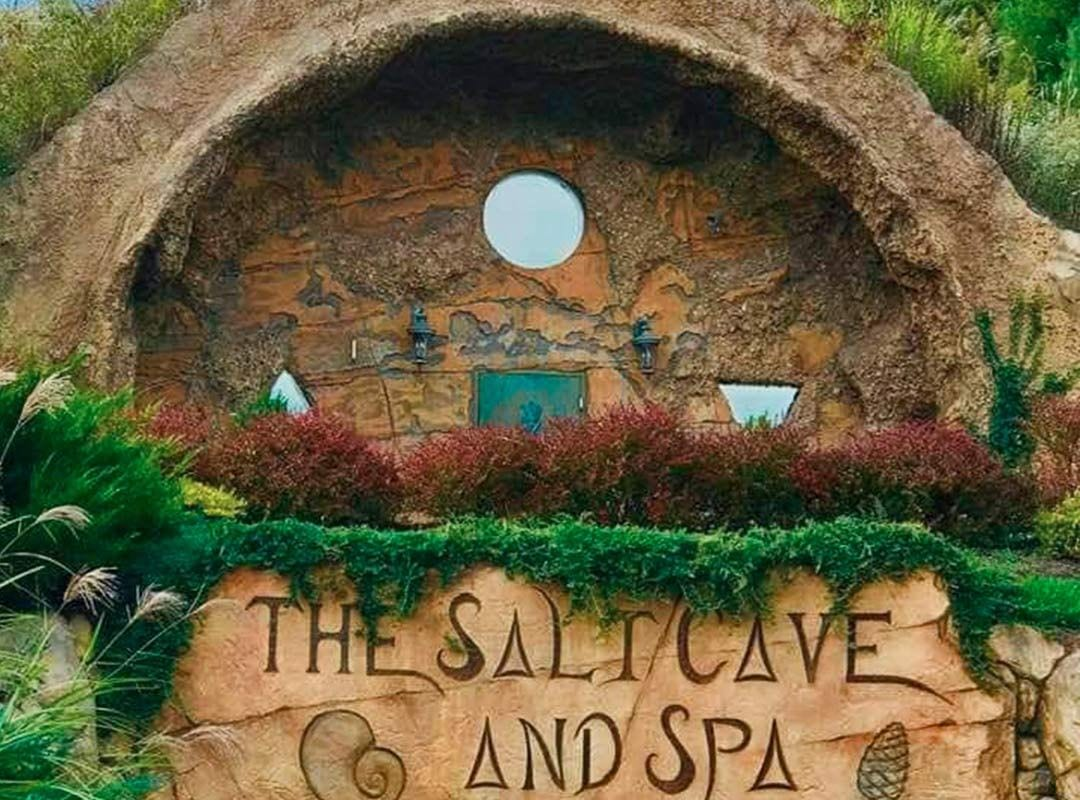 The Salt Cave and Spa in Lewisburg, West Virginia