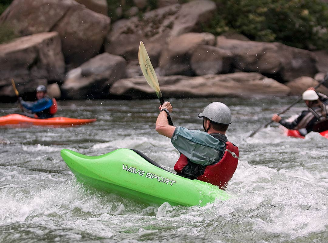 Whitewater Kayakers