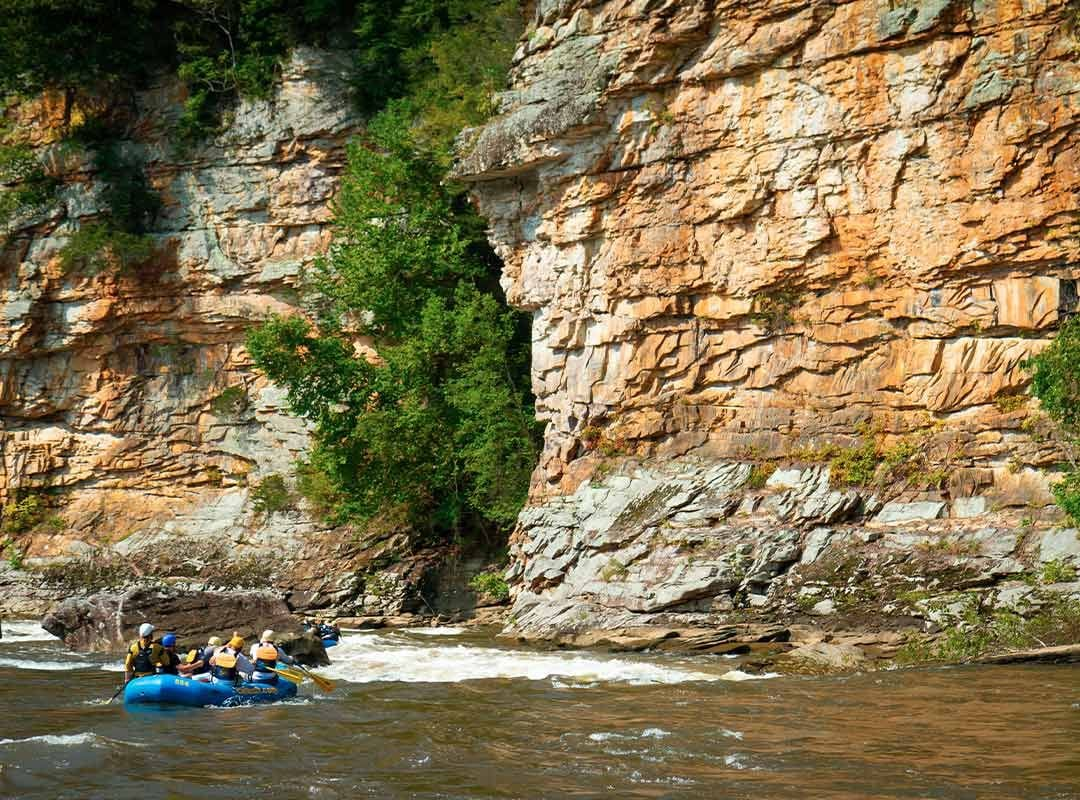 Canyon doors on the Lower Gauley River