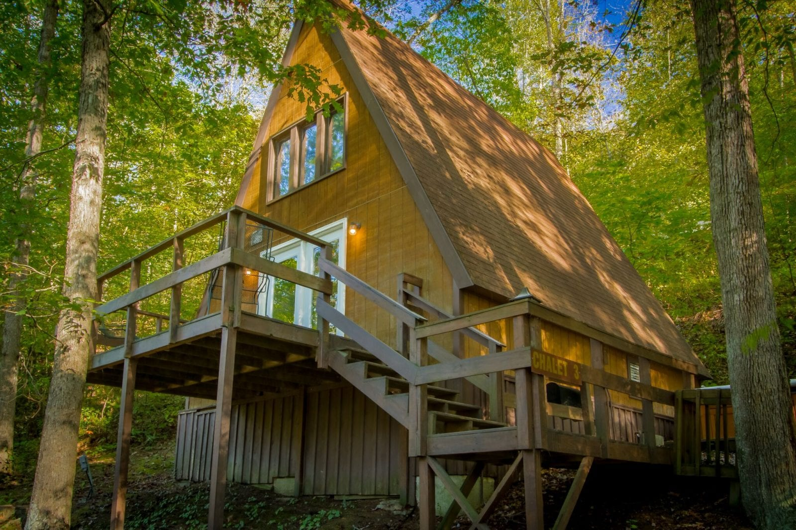 A-Frame cabin at ACE Adventure Resort